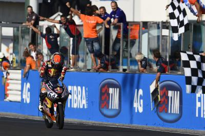 Bendsneyder wins race and Cup in Misano