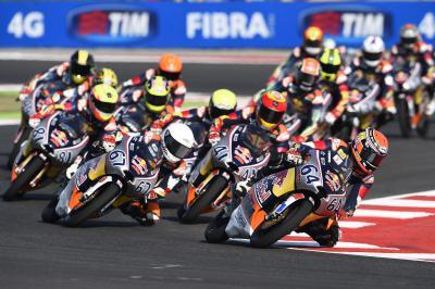 2015 Red Bull MotoGP Rookies Cup - Misano Race 1