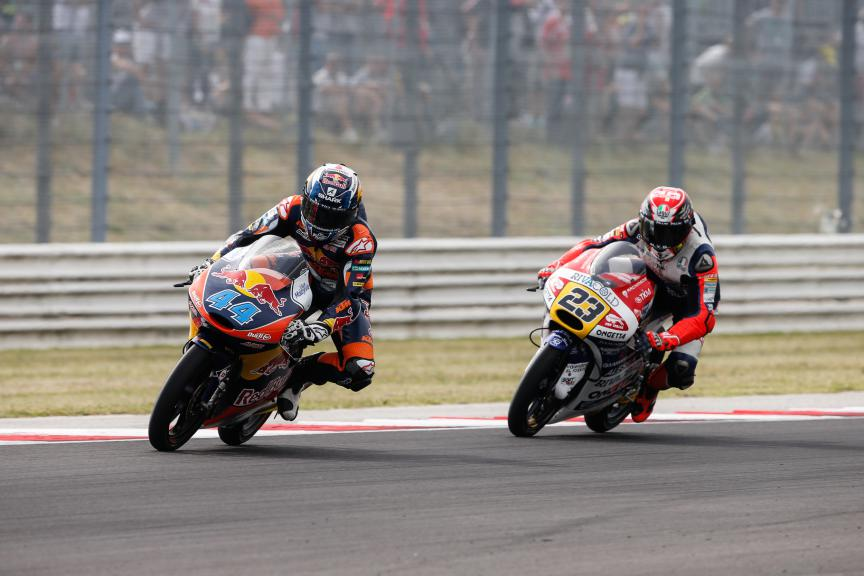Miguel Oliveira, Antonelli Niccolò, Red Bull KTM Ajo, Ongetta-Rivacold, San Marino GP RACE