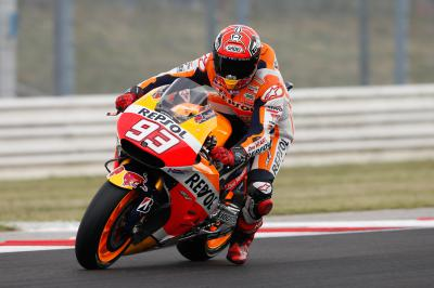 Marquez wins amid Misano mayhem