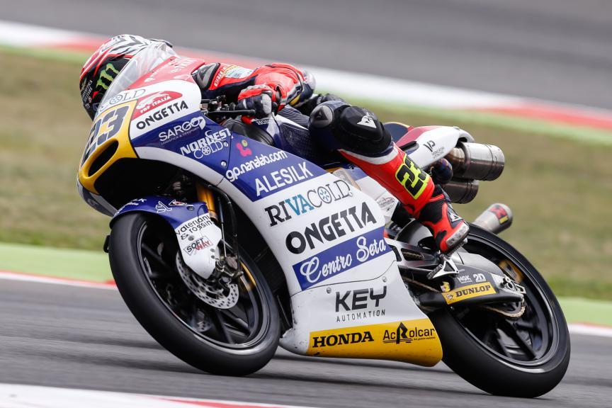 Niccolò Antonelli, Ongetta-rivacold, San Marino GP RACE