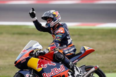 "Oliveira: ""It has been a long time off the podium for me"""