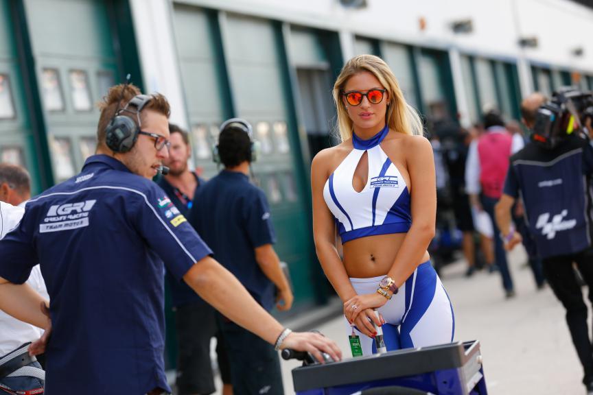 San Marino GP Paddock Girl