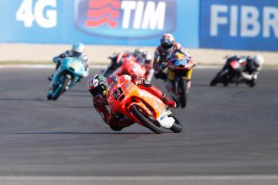 Moto3™: Guía de carrera en Misano