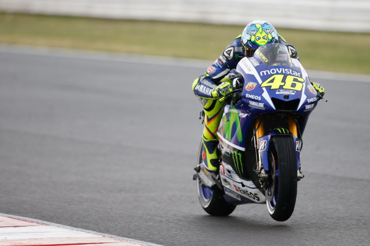 "Rossi: ""The race was a bit strange"" 