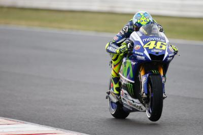 Rossi: 'The race was a bit strange'