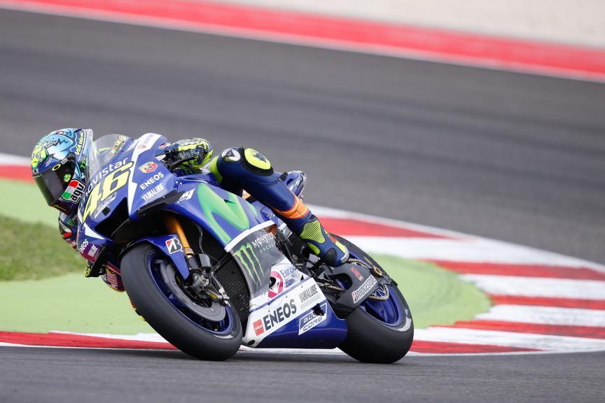 Valentino Rossi, Movistar Yamaha MotoGP, San Marino GP RACE