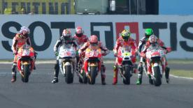 The full Warm Up session for the MotoGP™ World Championship at the San Marino GP.