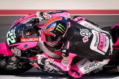 Lowes davanti nel warm up della Moto2™