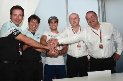 Oliveira passe en Moto2™ avec Leopard Racing