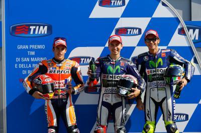 Lorenzo fährt in San Marino zur Pole