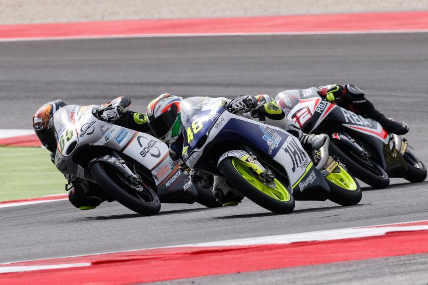 Dalla Porta, Phillip Oettl, Husqvarna Factory Laglisse, Schedl GP Racing, San Marino GP RACE