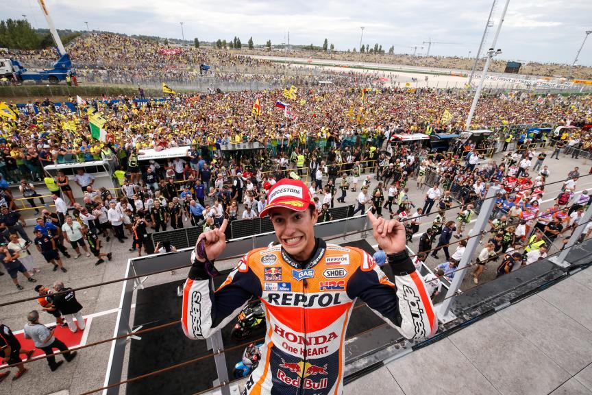 Marc Marquez, Repsol Honda Team, San Marino RACE