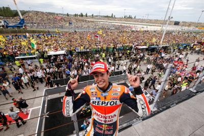 Marquez: 'I thought OK, now it's time to change tyres!'