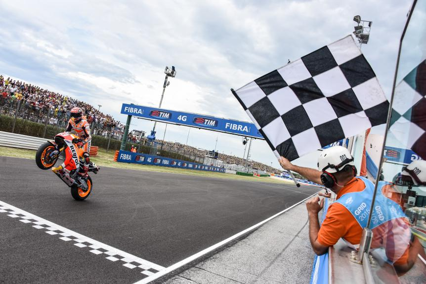 Marc Marquez, Repsol Honda Team, San Marino GP RACE