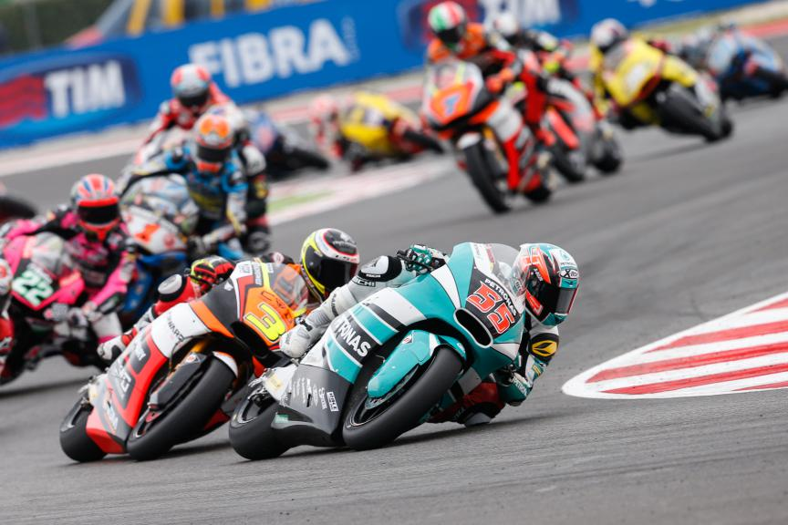 Moto2 Action San Marino GP RACE
