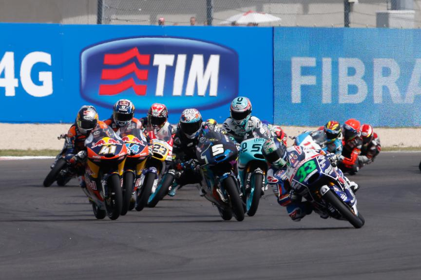Moto3 Action San Marino GP RACE