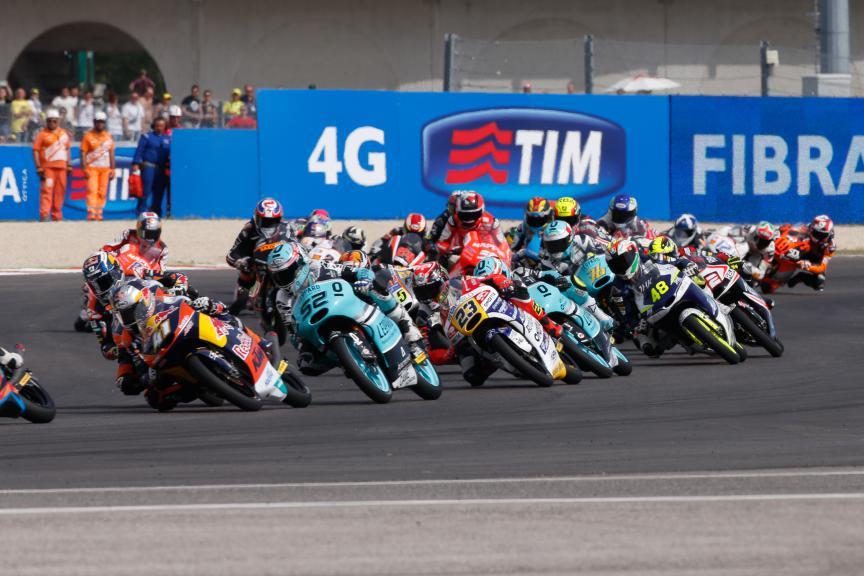 Moto3 Action San Marino GP RACE