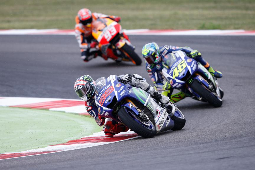 Jorge Lorenzo, Movistar Yamaha MotoGP, San Marino GP RACE