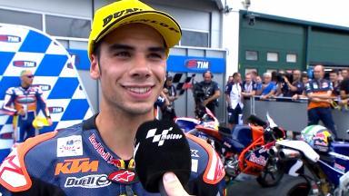 Oliveira:  «La última vuelta no fue mi momento»