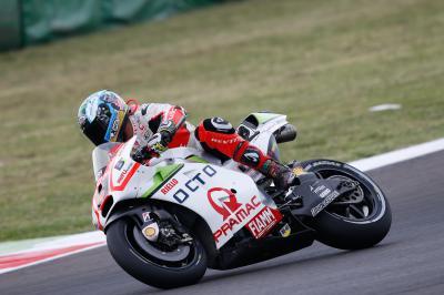Petrucci finit à nouveau premier pilote Ducati à Misano