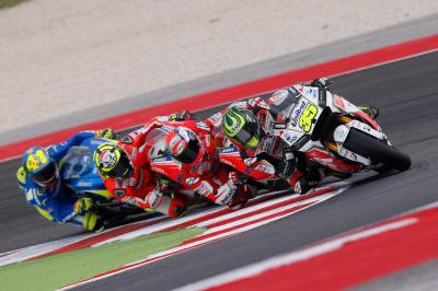 "Crutchlow: ""I should have come in"""