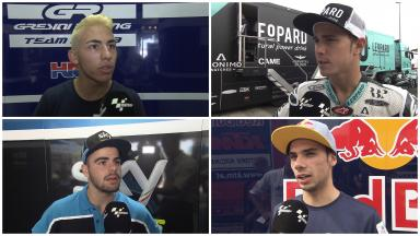 The Moto3™ riders discuss developments made during the post #SanMarinoGP test.