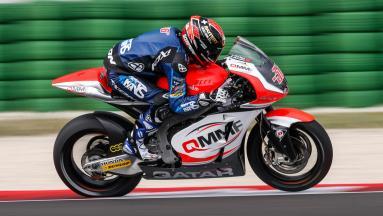 Los pilotos de Moto2™ realizan un test en Misano