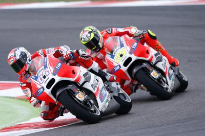 "Dovizioso: ""I will take the blame"""
