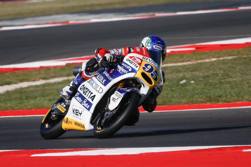 Jules Danilo, Ongetta-Rivacold, San Marino GP