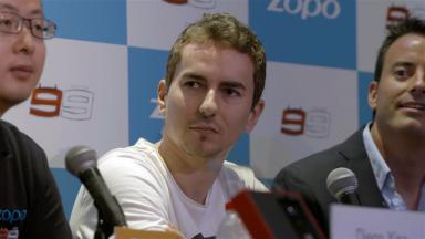 """Lorenzo: """"The title is still possible"""""""