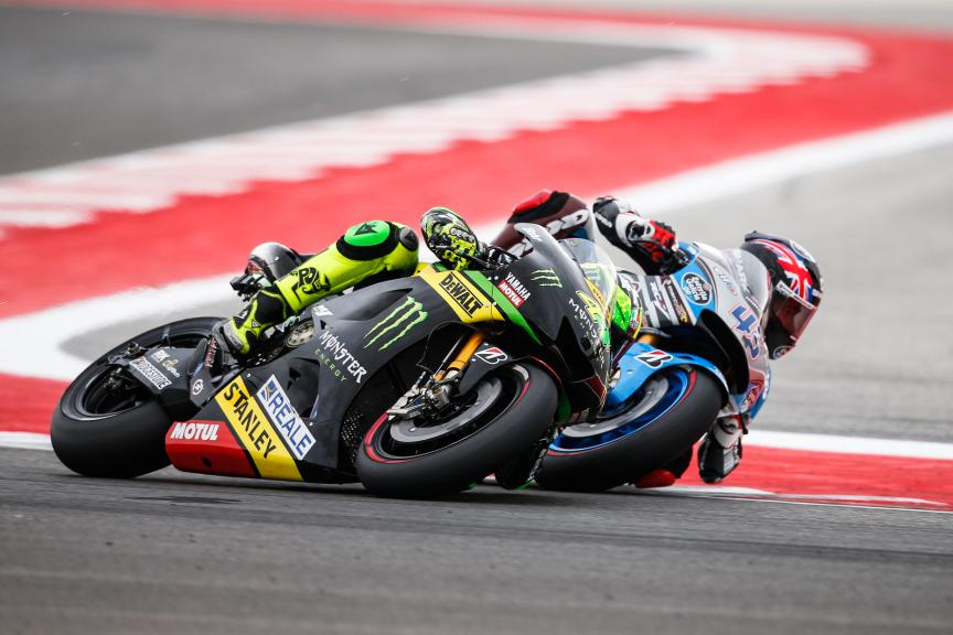 Pol Espargaro and Scott Redding head to head in San Marino GP