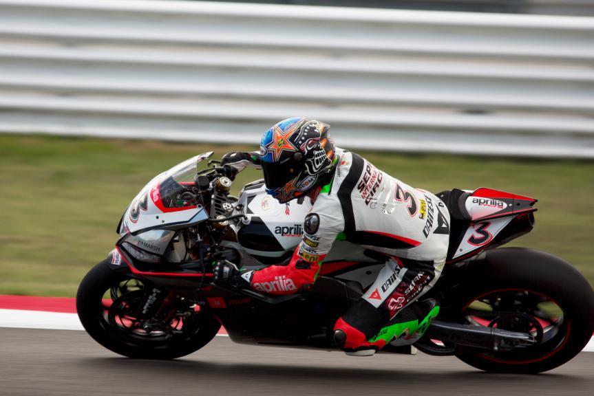 Max Biaggi, MotoGP Misano  Test