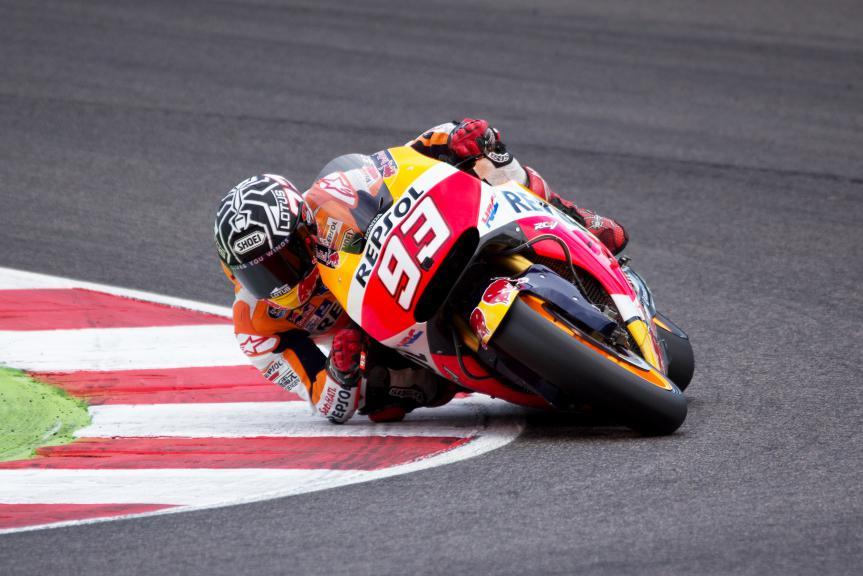 Marc Marquez, Repsol Honda Team, Misano Test