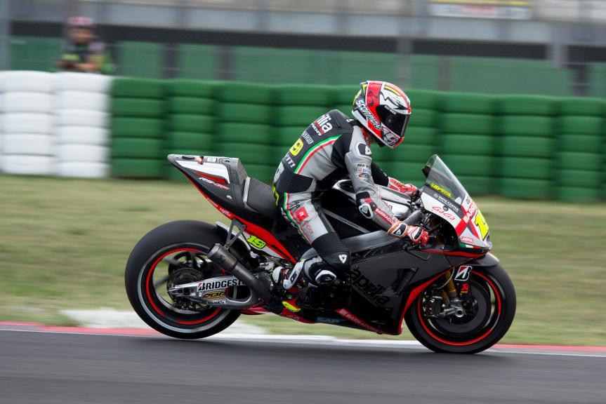 Alvaro Bautista, Aprilia Racing Team Gresini, Misano Test