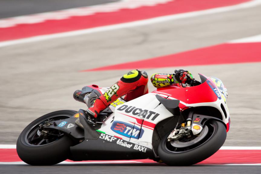 Andrea Iannone, Ducati Team, Misano Test