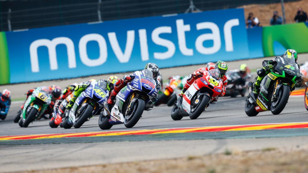 MotoGP Action, Aragon 2014