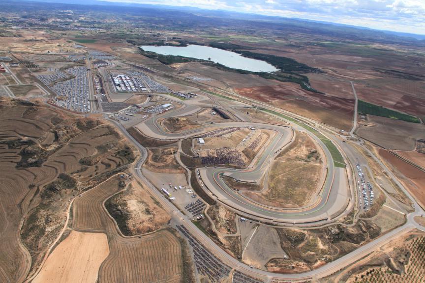 Aerial view Aragon