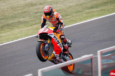 Marquez approaches milestone