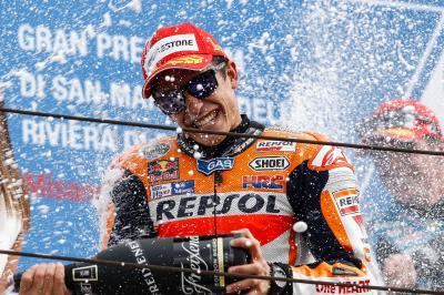 Misano, un podio de MotoGP™ para recordar