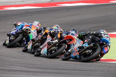 #StatAttack: Who won the 2014 Moto3™ race at Aragon?