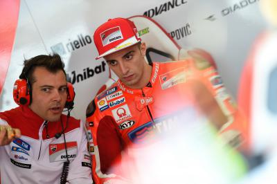 "Iannone: ""A sudden movement caused my shoulder to pop out'"