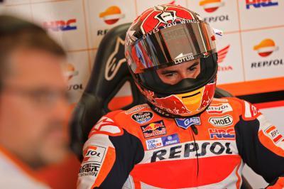 Márquez : « Espérons que nous aurons une course normale »