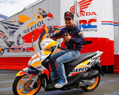 Pedrosa Blog: Eager to arrive at Motorland