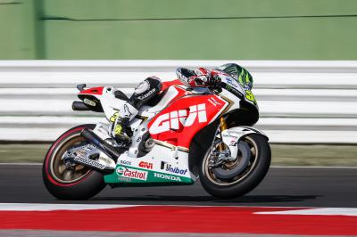 "Crutchlow: ""Hopefully we can go better"""