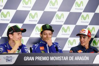 Gran Premio Movistar de Aragón Press Conference