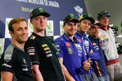 Comienza el Gran Premio Movistar de Aragón
