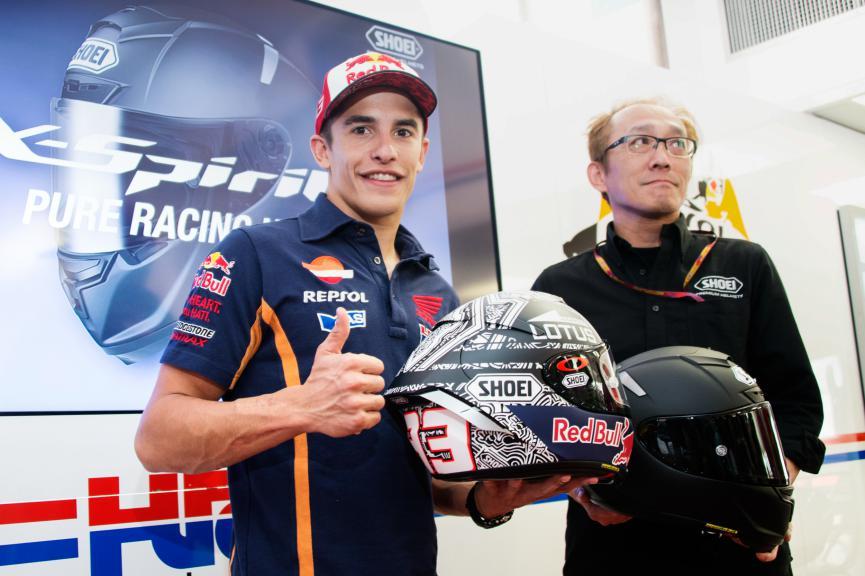 Marquez's Helmet for Aragón