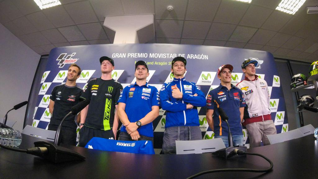 Gran Premio Movistar de Aragón Press Conference