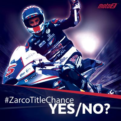 Will Zarco lift the title at the #AragonGP?